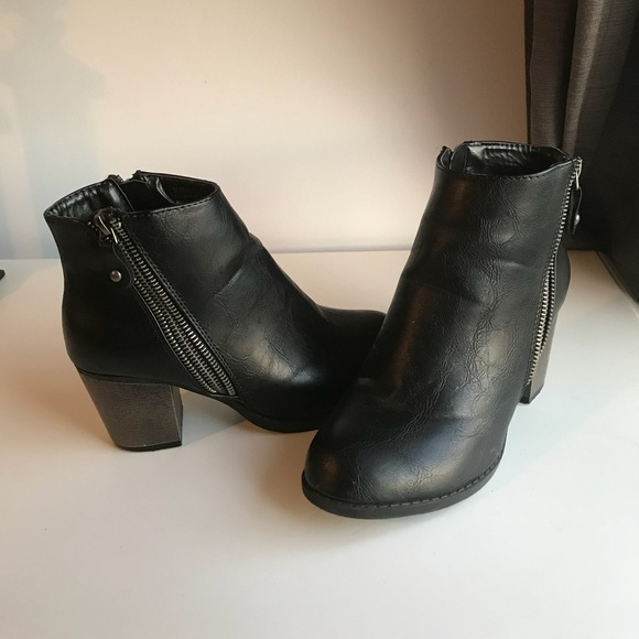 kohls Shoes | Black Booties | Poshmark